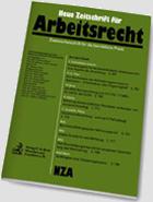 Neu Zeitschrift für Arbeitsrecht - NZA